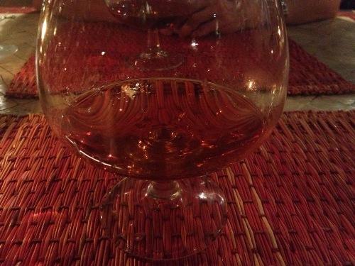 La copa de Brandy de la discordia.