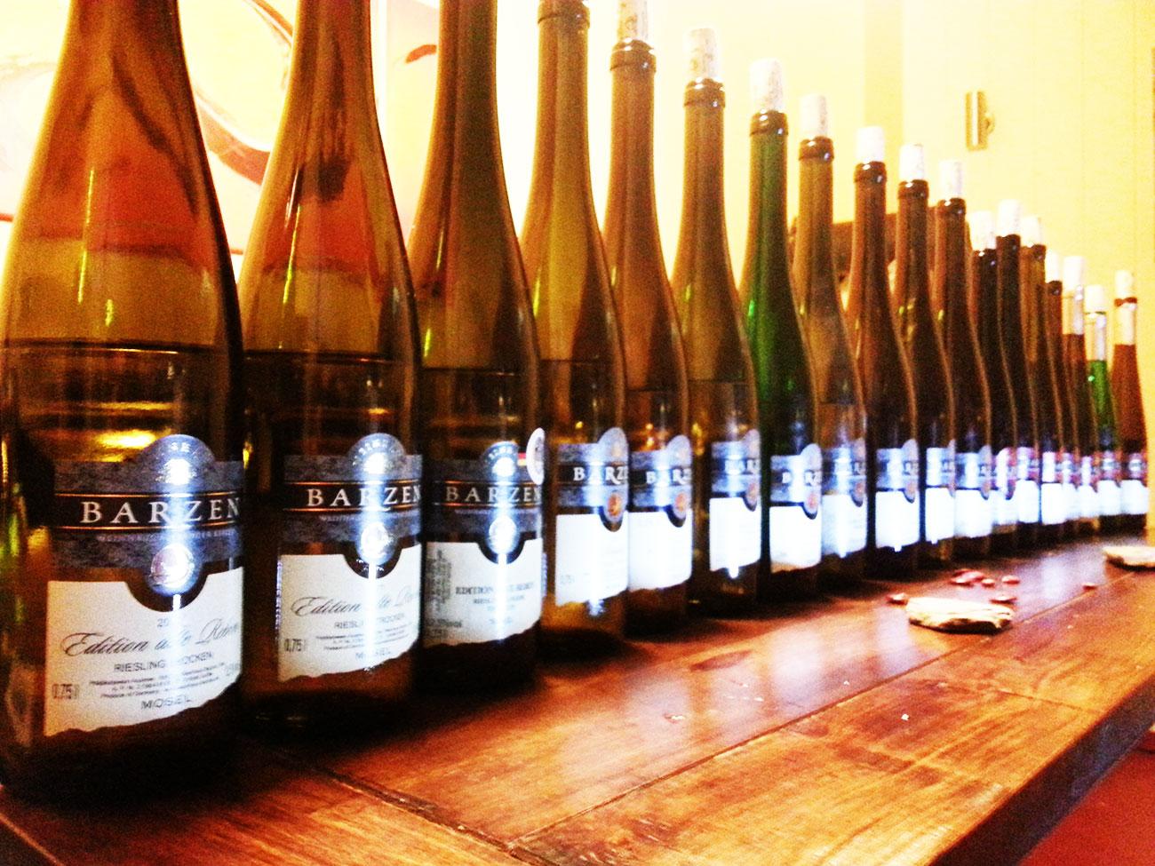 18 vinos Riesling de Alexander Barzen