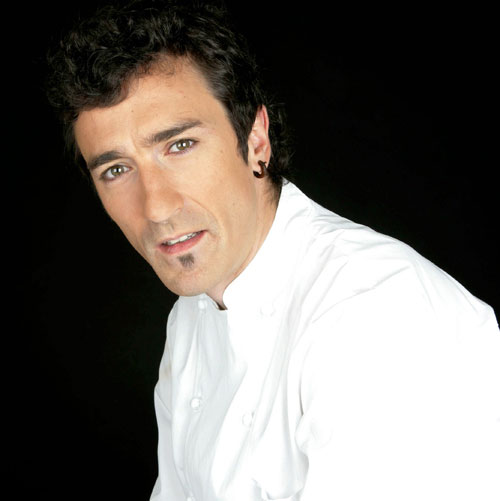 Eneko Atxa, chef de Azurmendi, restaurante tres Estrellas Michelin