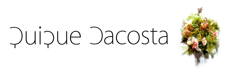 Restaurante Quique Dacosta, tres Estrellas Michelin
