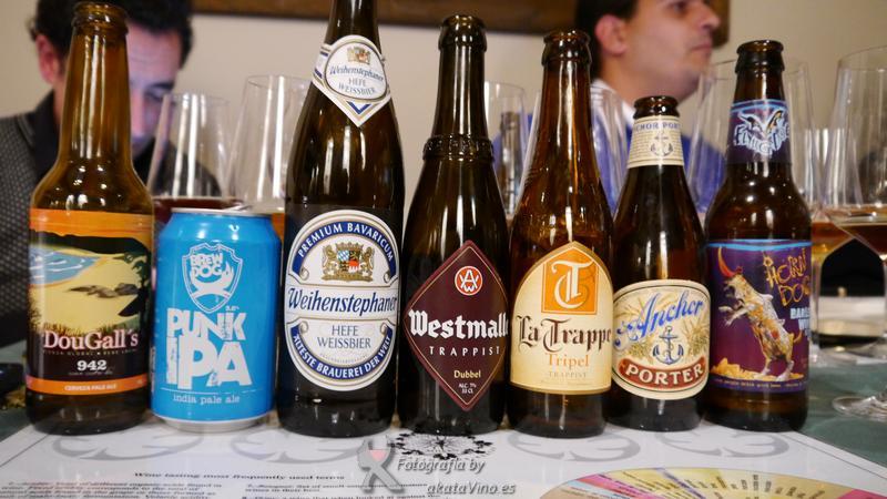 Cata de Cervezas artesanales by akataVino.es
