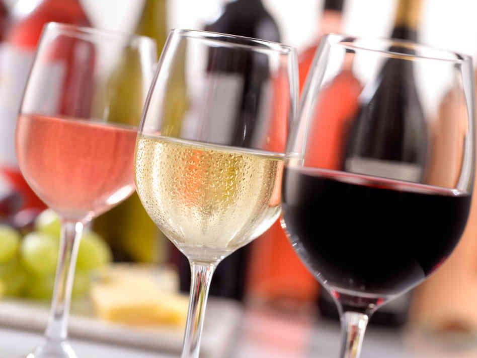 Resultado de imagen para vino tinto, blanco, rosado