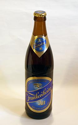 Cerveza Frankenheim Alt
