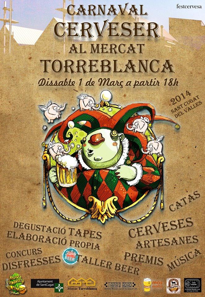 Carnaval cervecero en Sant Cugat del Vallés