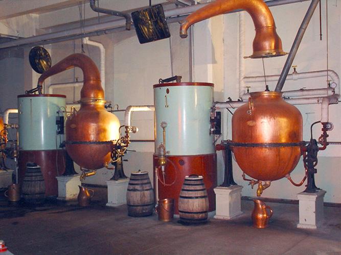 Destilacion del vodka