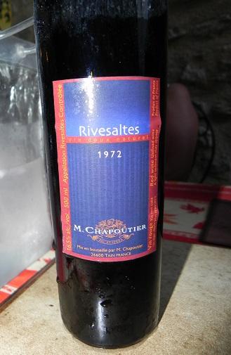 Rivesaltes Chapoutier 1972