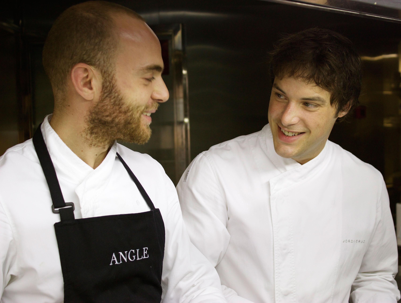 Jordi Cruz en la cocina de L'Angle