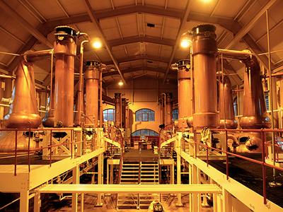 Producción del whisky