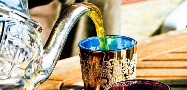 Preparación del té