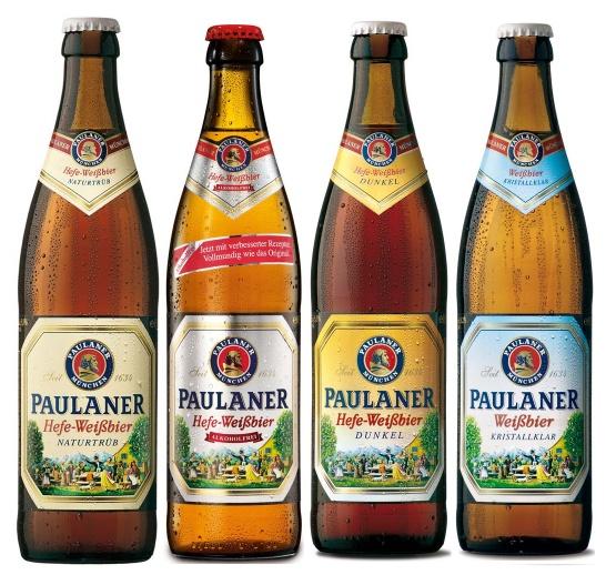 Cervezas de trigo Paulaner