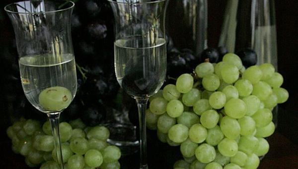 Pisco y uvas para el pisco