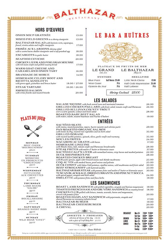 C mo restaurantes utilizan la carta para cobrar m s a los for Manual de restaurante pdf