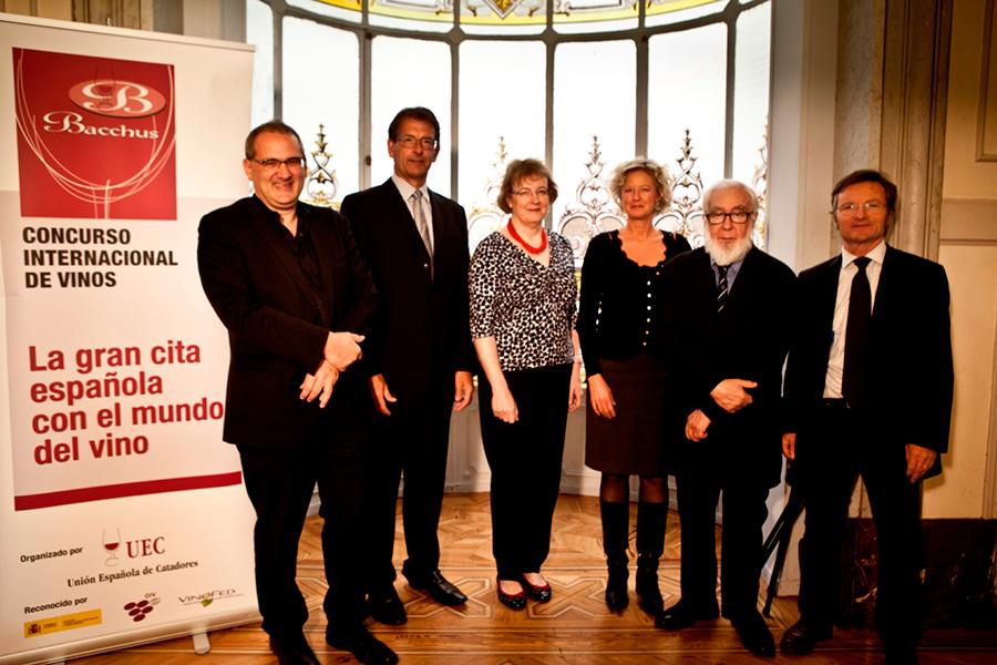 Seis de los masters of Wines presentes en los Bacchus 2014