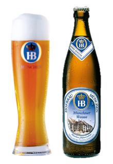 Cerveza Hofbräu München Münchner Weisse