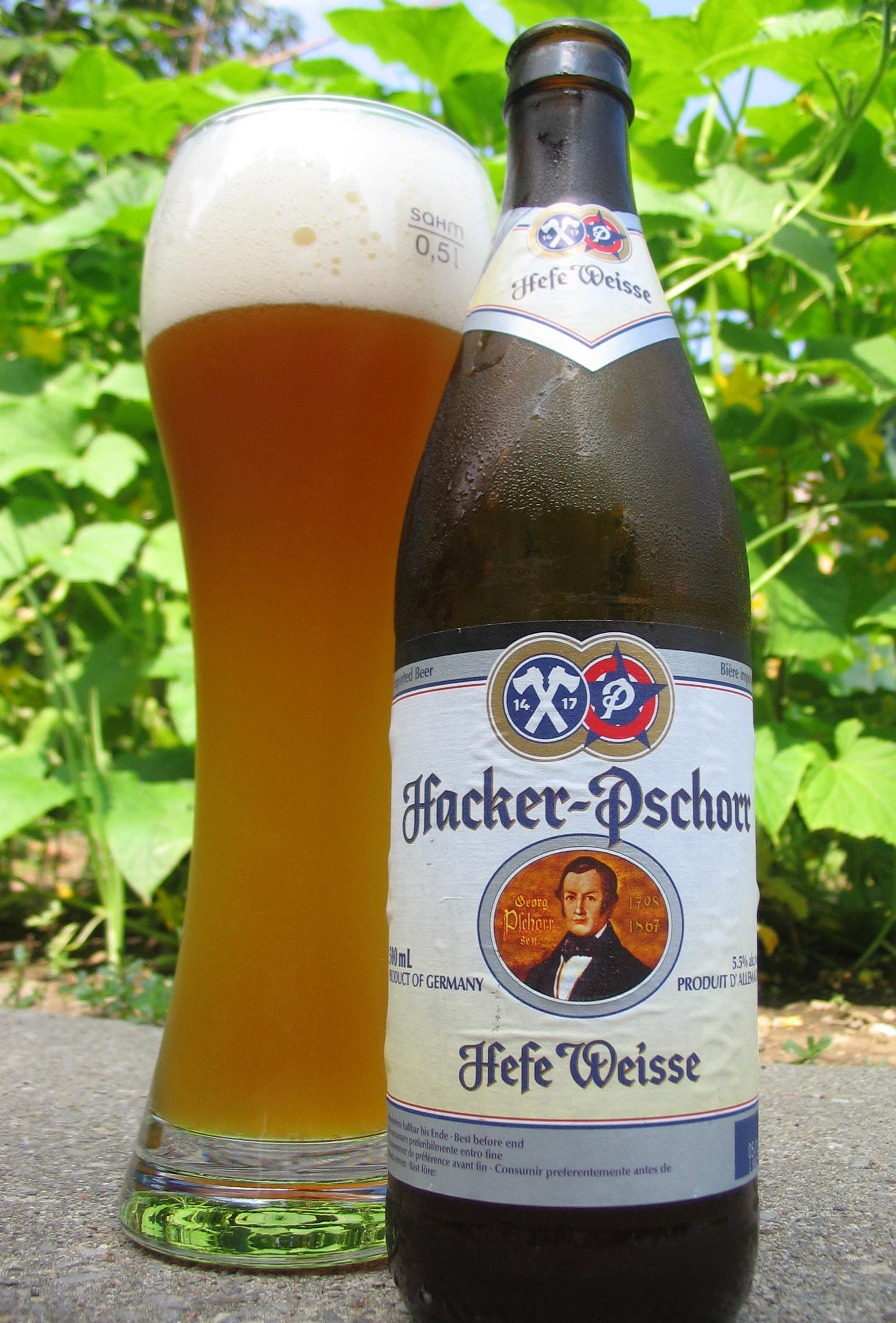 Cerveza Hacker-Pschorr Hefe Weisse