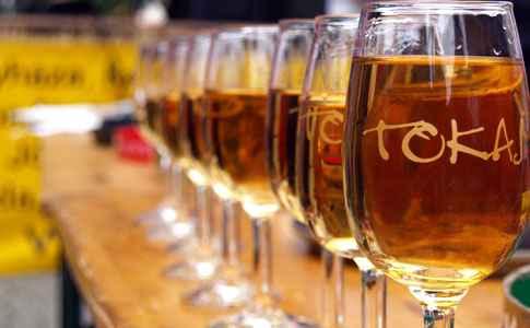 Copas de vino Tokaji