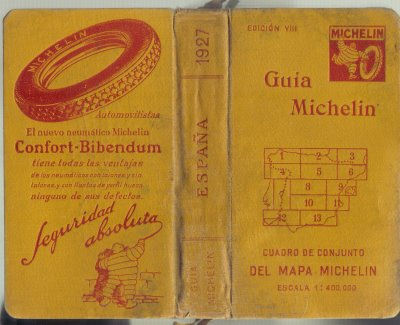 Guía Michelin 1927