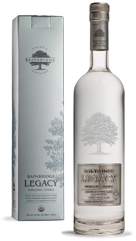 Bainbridge Legacy Orcanic Vodka