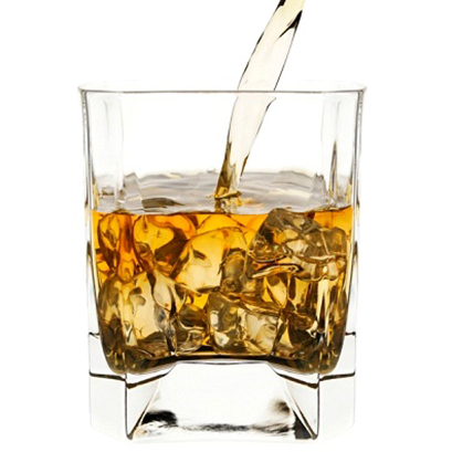 Vaso de Scotch Whisky