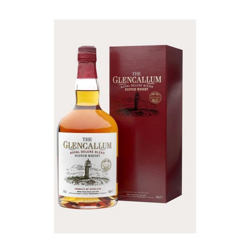 Botella de Glencallum Scotch Blended Whisky