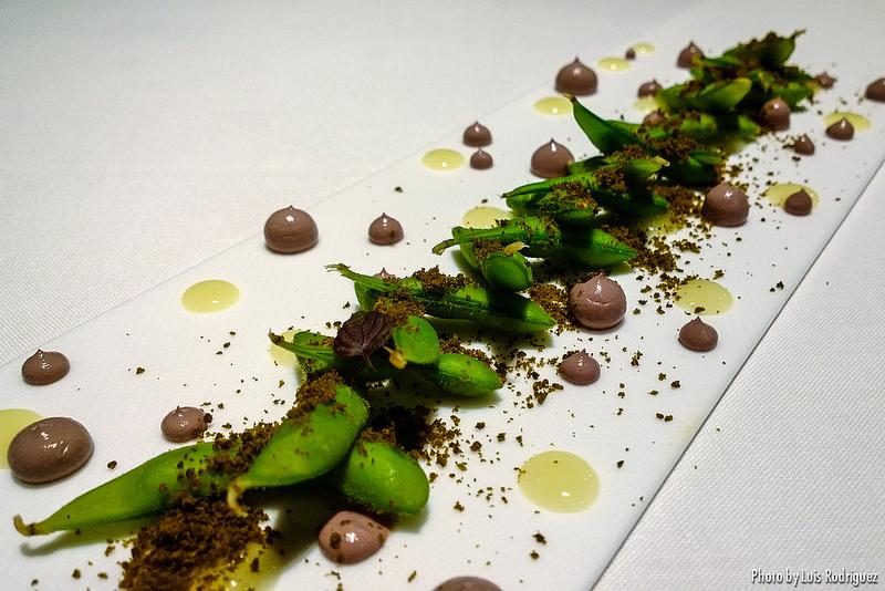 Olivas de Tokyo, dulce y umami, restaurante DiverXO