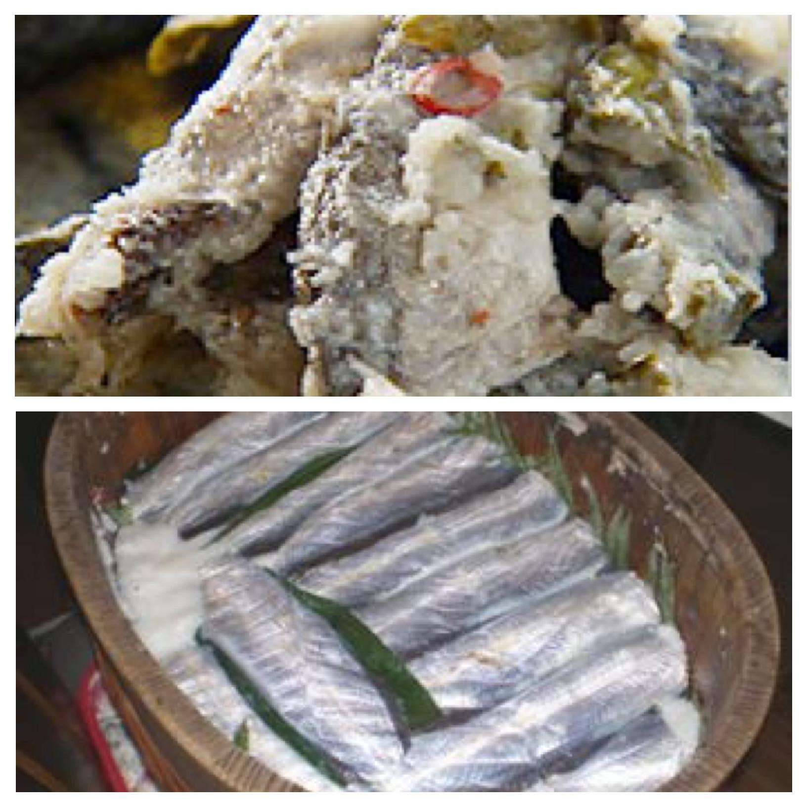 Narezushi tipos de suhi