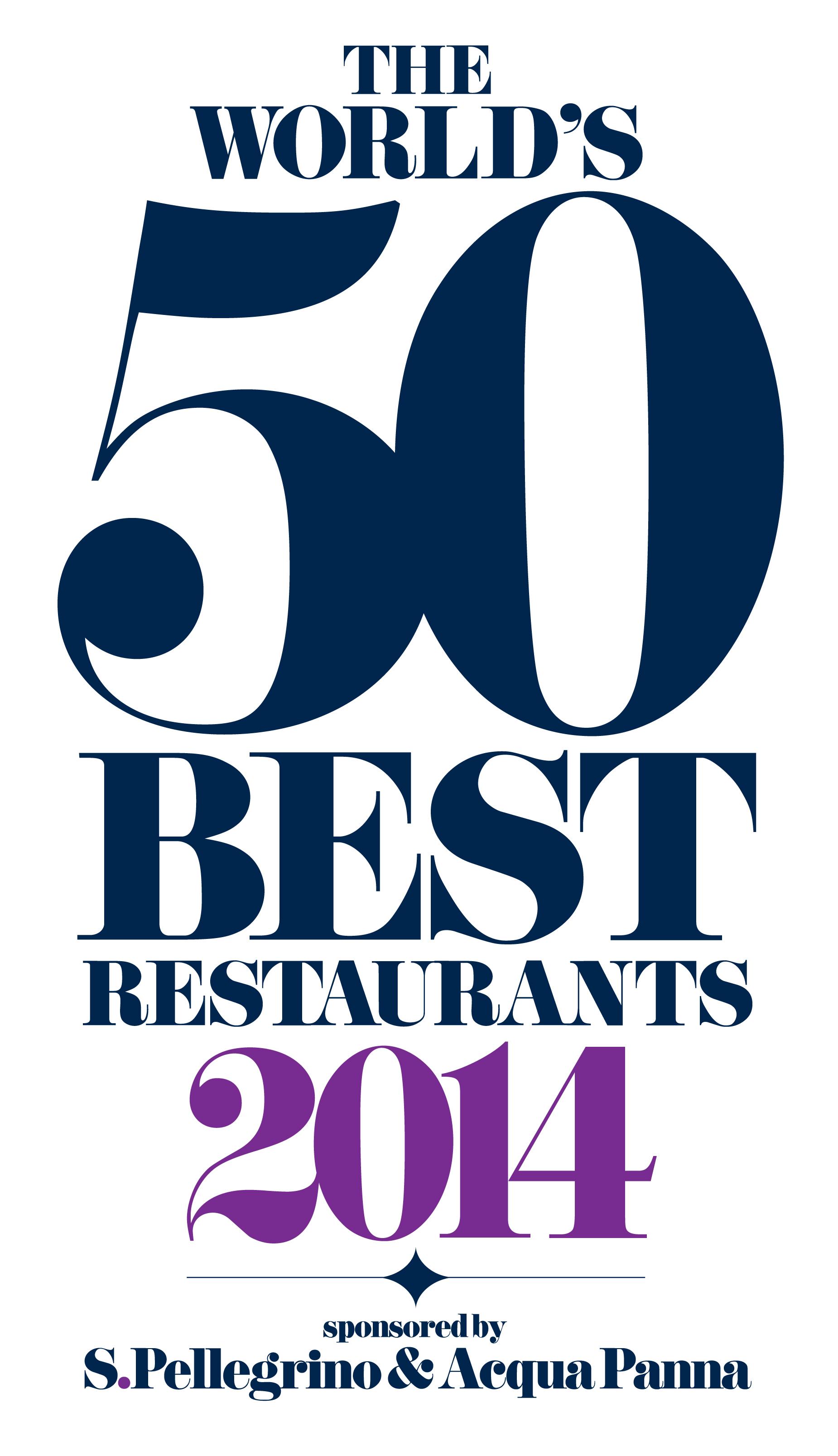 Los 50 Mejores Restaurantes del Mundo en 2014