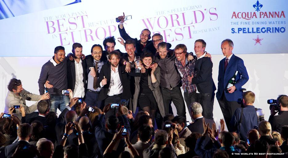 Gala de los premios The World's 50 Best Restaurants