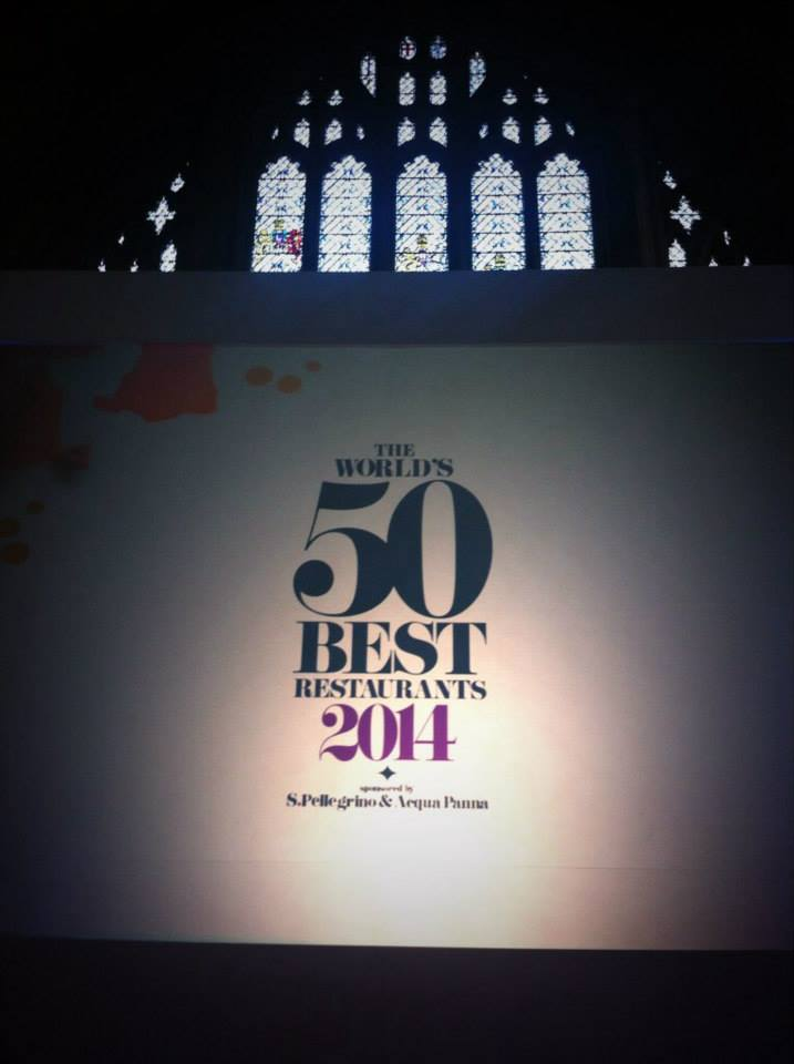 Stage de la gala The World's 50 Best Restaurants