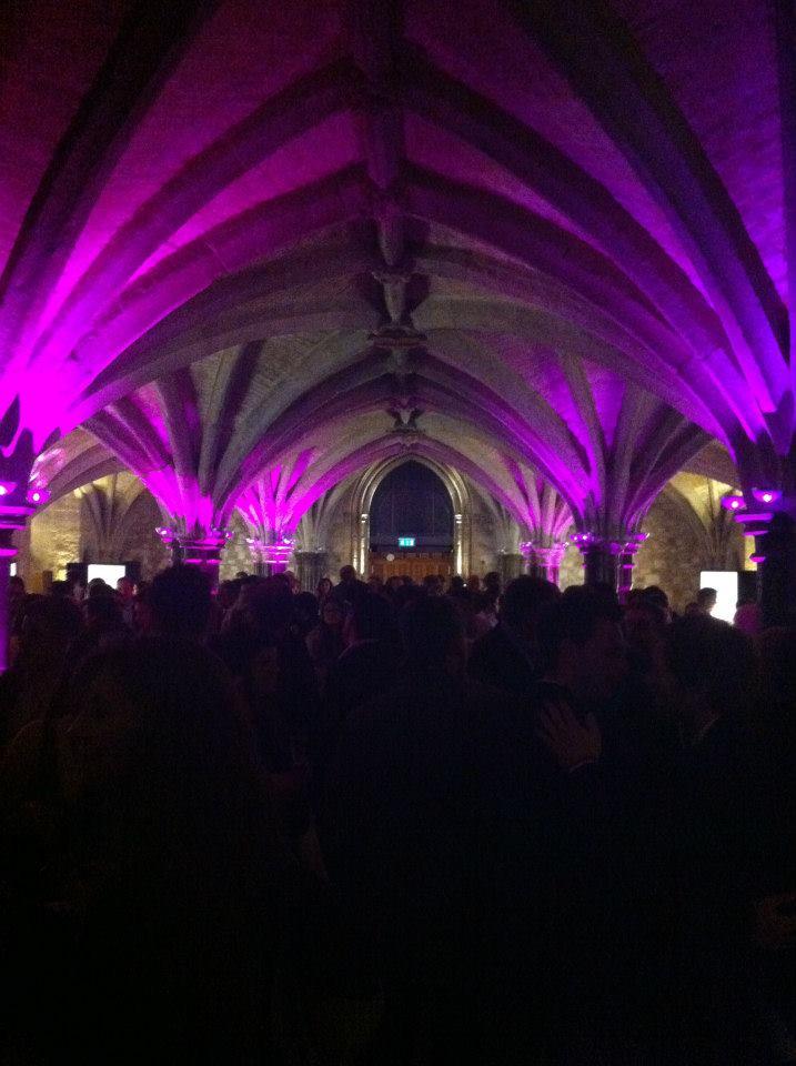 Salón de la gala The World's 50 Best Restaurants