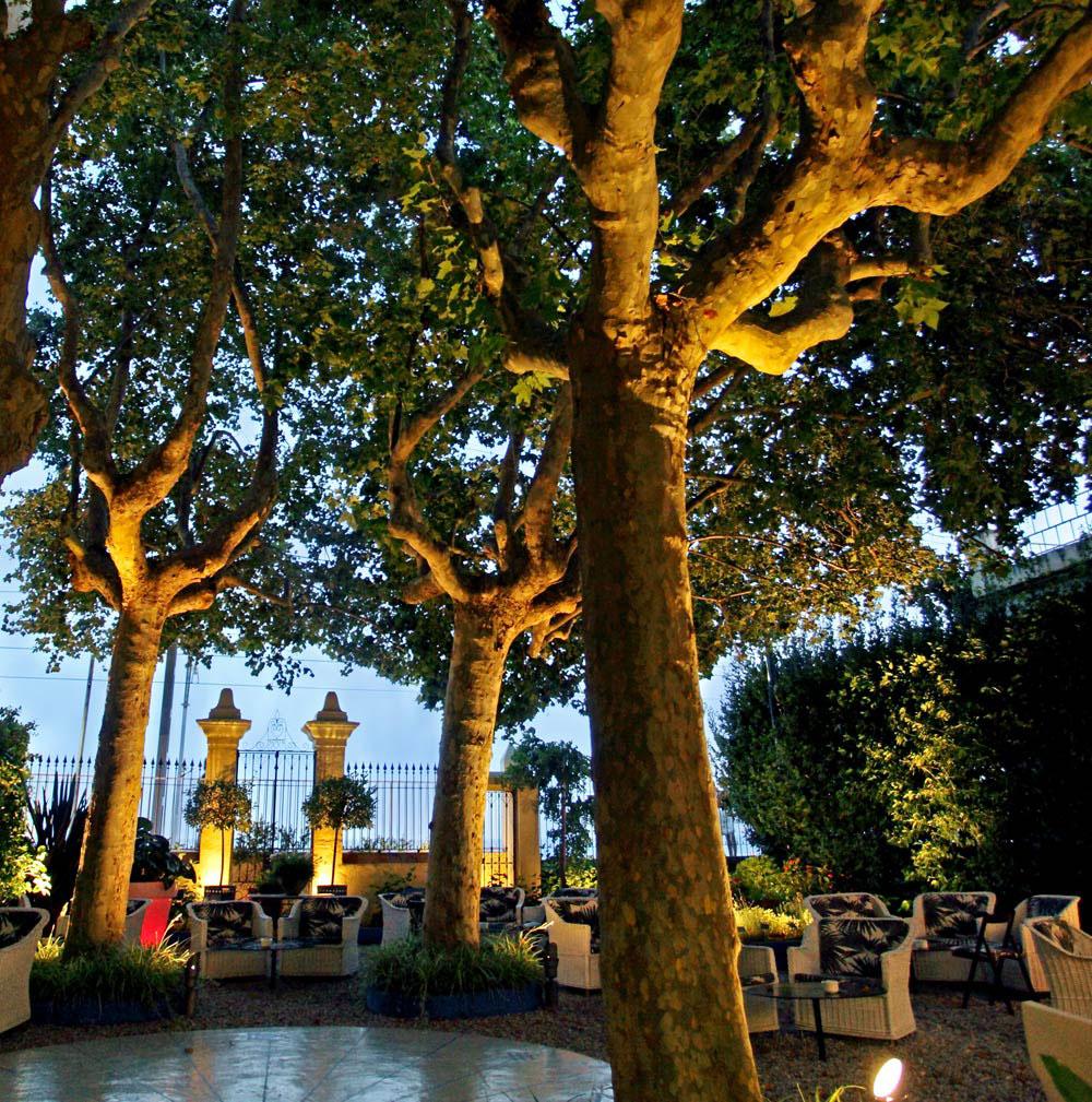 Jardín restaurante Sant Pau
