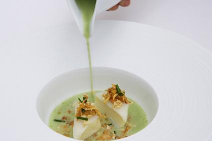 Salsa verde de bacalao por Carme Ruscalleda