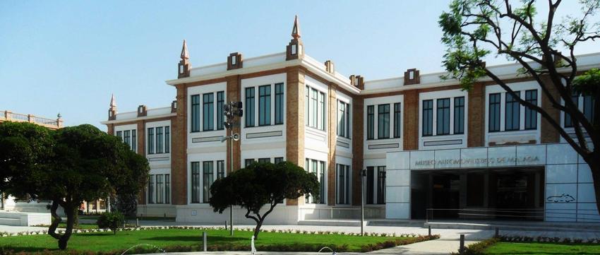 #VeremaMalaga_fachada_museo_automovilístico_málaga