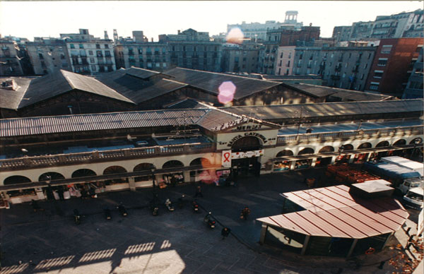 Mercado Santa Caterina antes de la remodelación