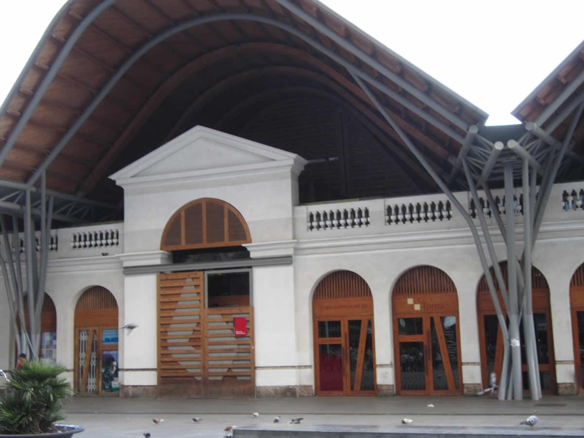 Entrada Mercado Santa Caterina