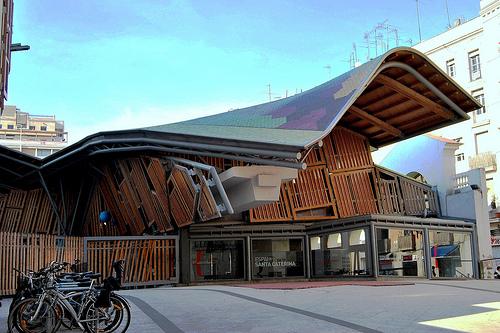 Arquitectura Mercado Santa Caterina