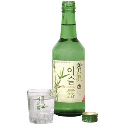 Soju, bebida mas consumida en Corea del Sur