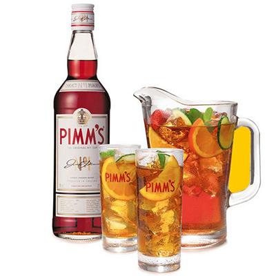 Pimm´s bebida típica inglesa