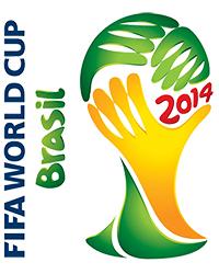 Logo oficial del mundial de Brasil