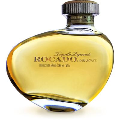 Botella de tequila Rocado
