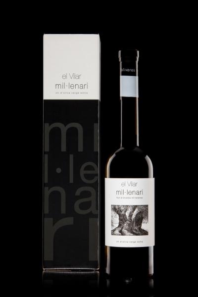 Aceite de oliva milenario El Vilar