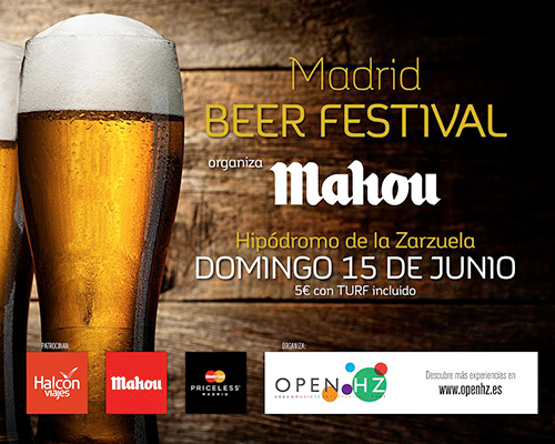 Cartel del Madrid Beer Festival