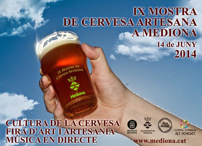 IX Mostra de la cervesa artesana de Mediona 2014