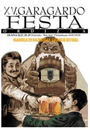 XV Feria de la Cerveza en Ordizia Rugby Elkartea