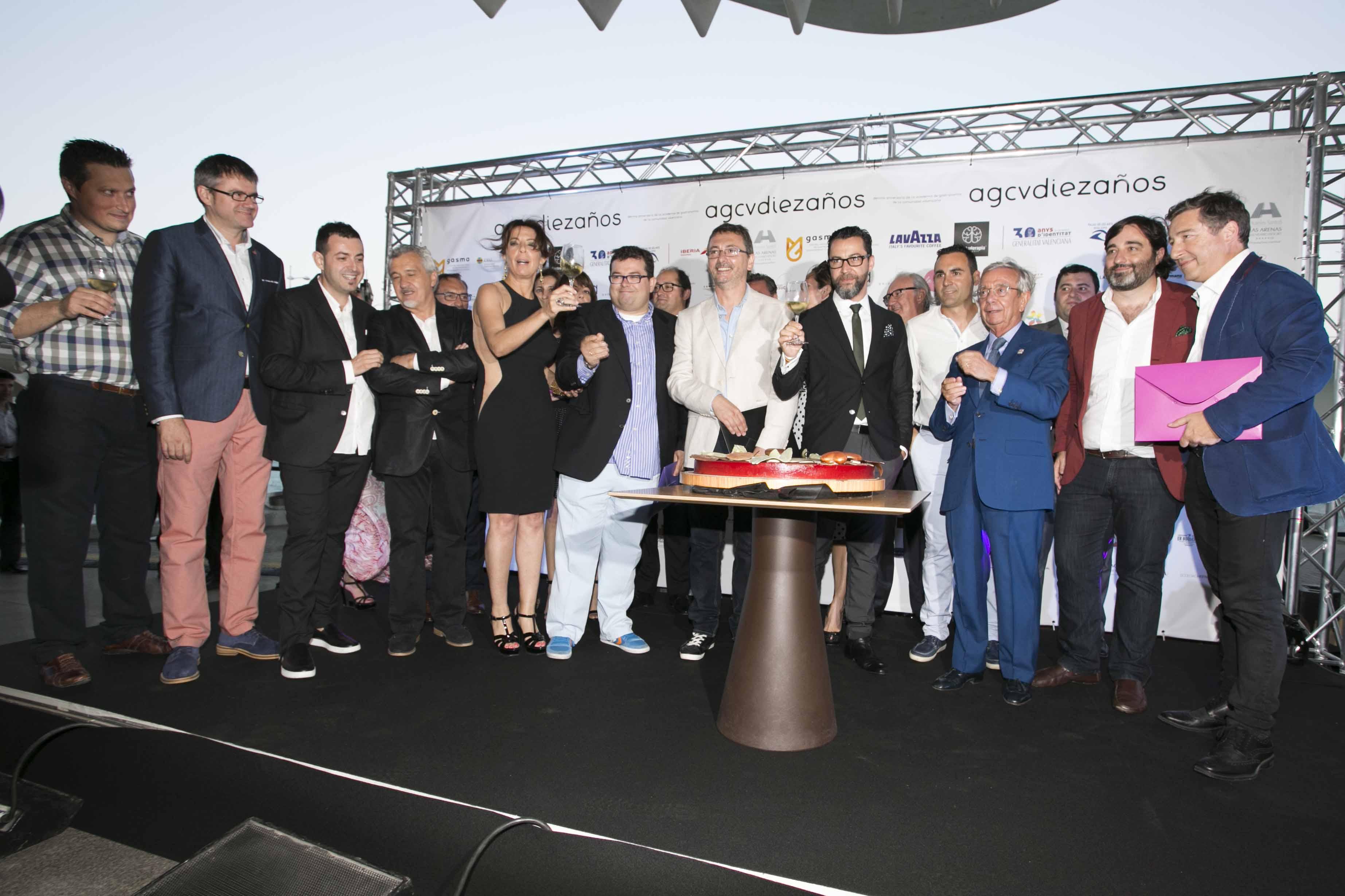 Invitados X aniversario de la Academia de Gastronomía de la Comunidad Valenciana