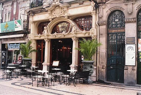 Fachada Cafe Majestic