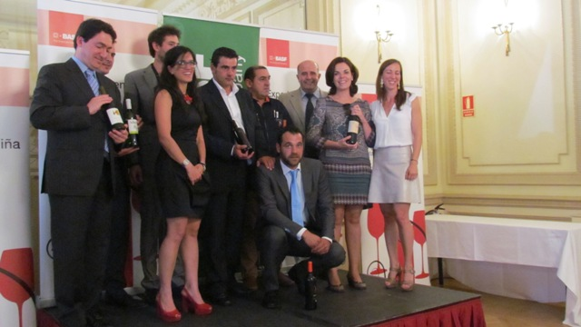 Galardonas Premios BASF Experiencia en Viña