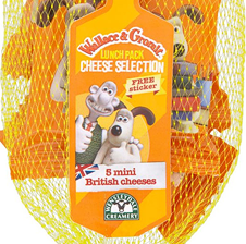 Kit quesos Wallace & Gromit