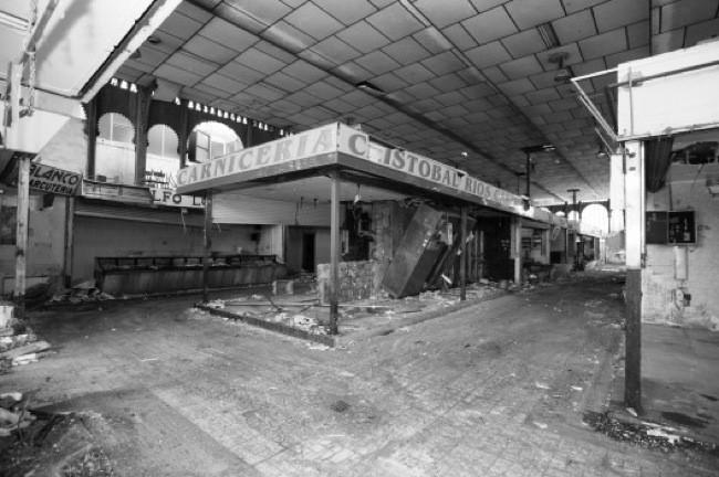 Mercado Atarazanas antes de la rehabilitación