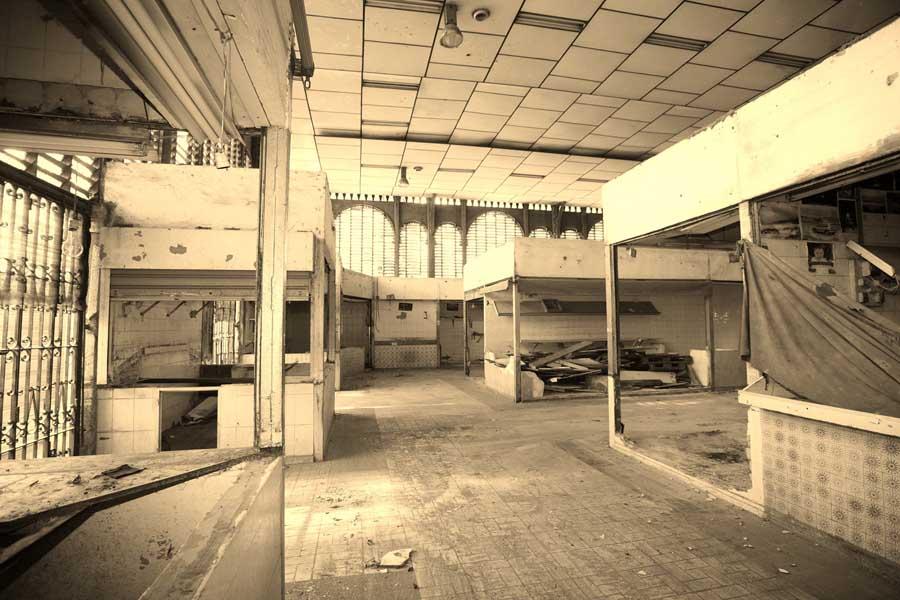 Estado previo a la remodelacion del Mercado Atarazanas